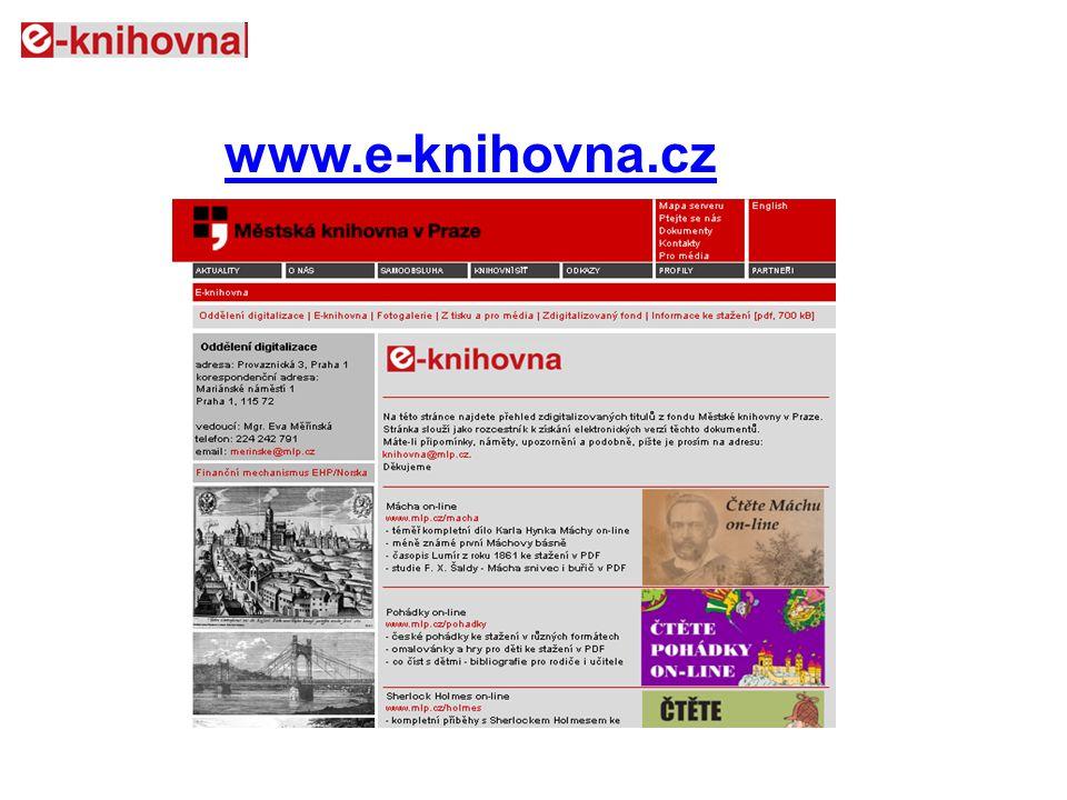 www.e-knihovna.cz