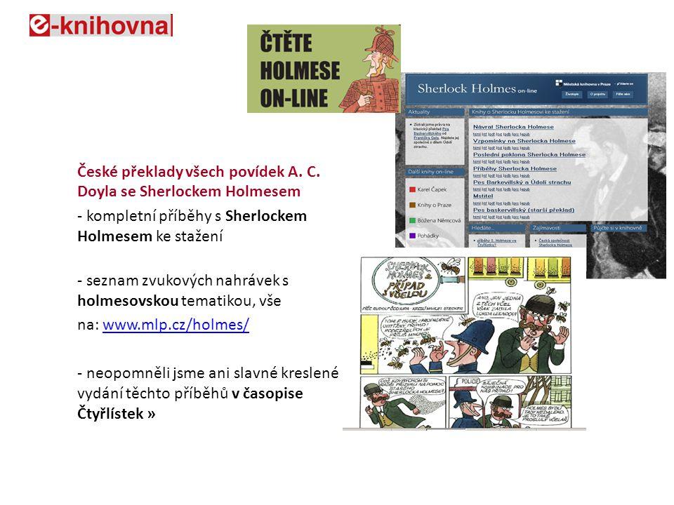České překlady všech povídek A. C.