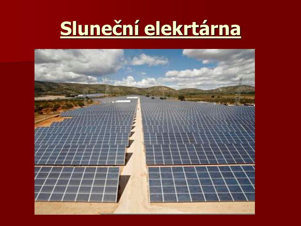 Sluneční elekrtárna