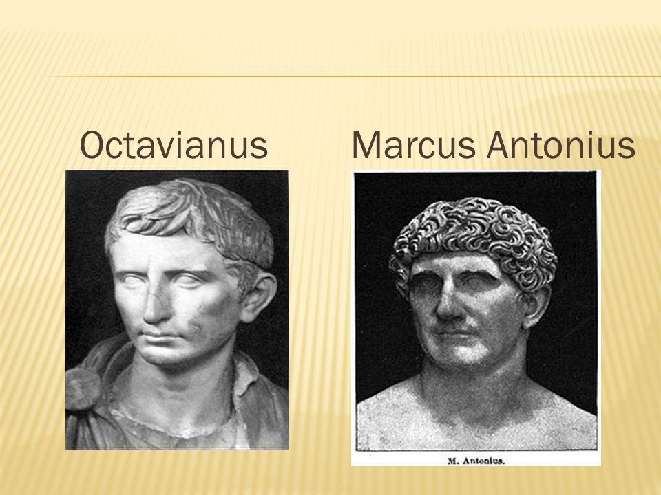OctavianusMarcus Antonius