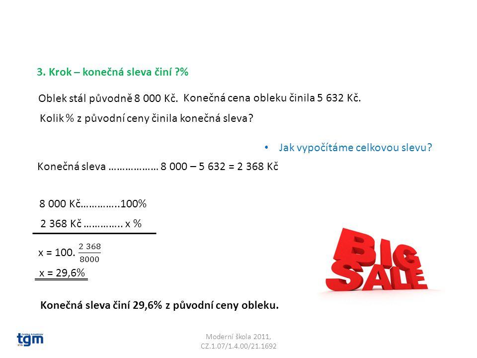 Moderní škola 2011, CZ.1.07/1.4.00/21.1692 Oblek stál původně 8 000 Kč.