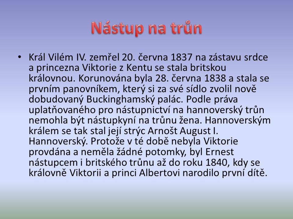 Král Vilém IV.zemřel 20.