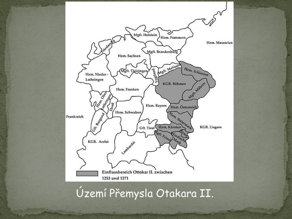 Území Přemysla Otakara II.