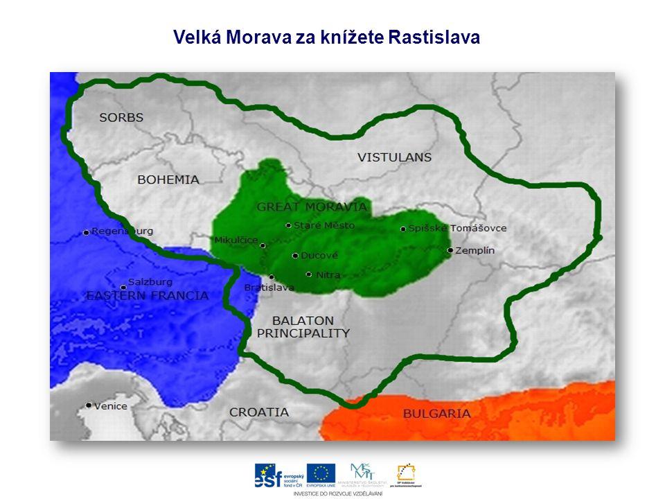 Velká Morava za knížete Rastislava