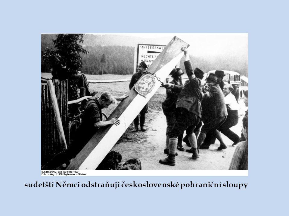 pohraniční oblasti v říjnu 1938