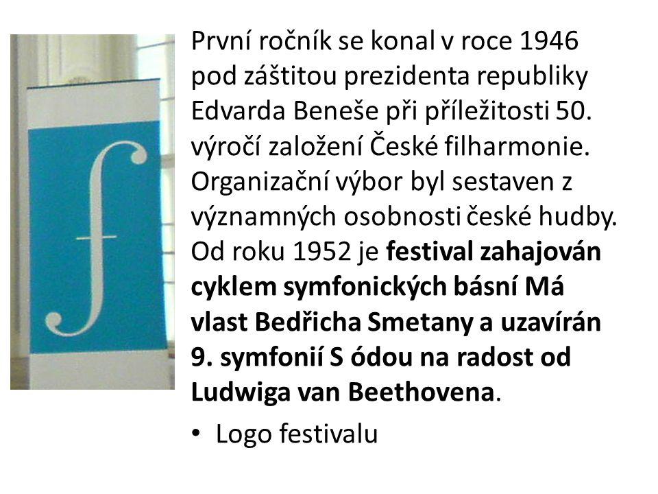 První ročník se konal v roce 1946 pod záštitou prezidenta republiky Edvarda Beneše při příležitosti 50. výročí založení České filharmonie. Organizační