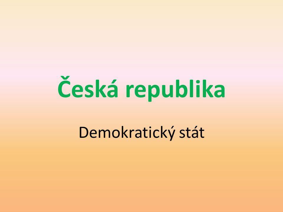 Česká republika Přezdívá se jí střecha či srdce Evropy Člen Evropské unie od roku 2004 Dlouhou dobu byly české země pod nadvládou Rakouska za dob rakousko-uherské monarchie; po první světové válce vznikl první společný stát Čechů a Slováků – Československo; od roku 1948 až do roku 1989 zde byl totalitní režim; od 1.1.1993 je ČR samostatný demokratický stát