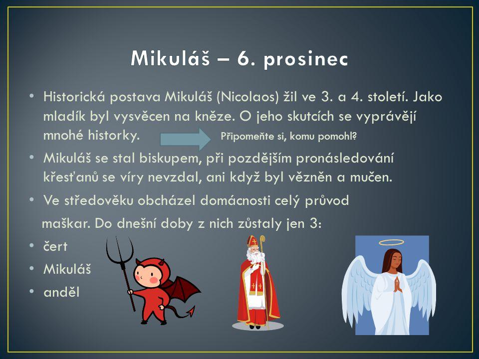 Znáš legendu o sv.Barboře, která zemřela rukou vlastního otce, protože se odmítla zříci své víry.
