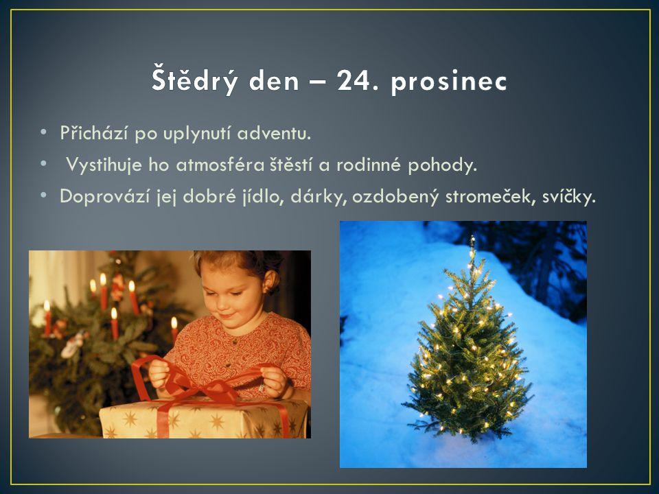 Co vlastně na vánoční stůl z 19. století nepatří? Tehdy se nedělal....