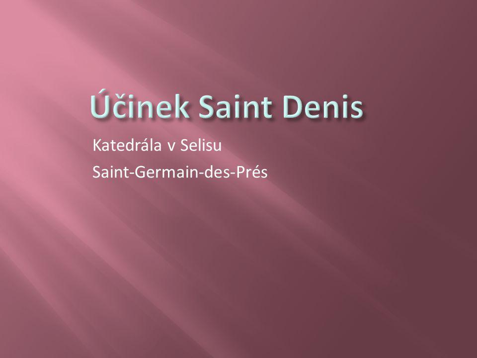 Katedrála v Selisu Saint-Germain-des-Prés