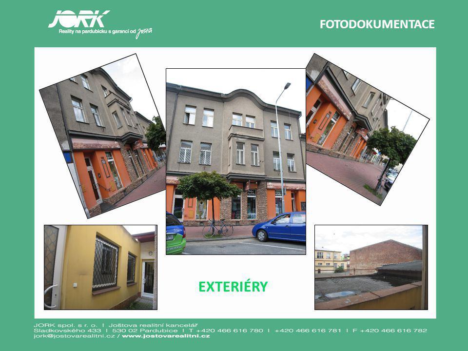 FOTODOKUMENTACE EXTERIÉRY