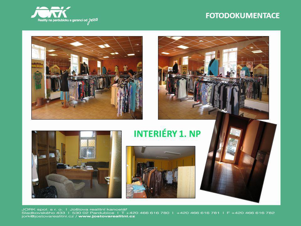 FOTODOKUMENTACE INTERIÉRY 1. NP