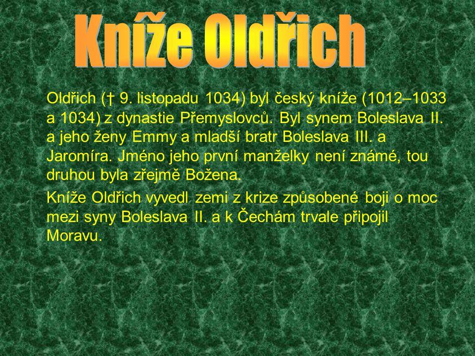 Roku 1001 uprchl s Jaromírem a jejich matkou před terorem Boleslava III., který mínil nechat Oldřicha, v té době už možná otce levobočného syna Břetislava, zavraždit.