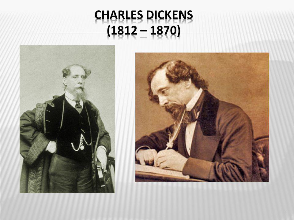  anglický spisovatel  představitel kritického realismu  je považován za jednoho z největších romanopisců 19.