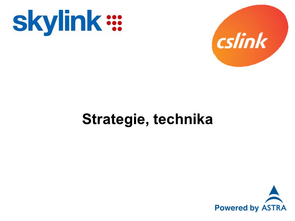 Strategie, technika