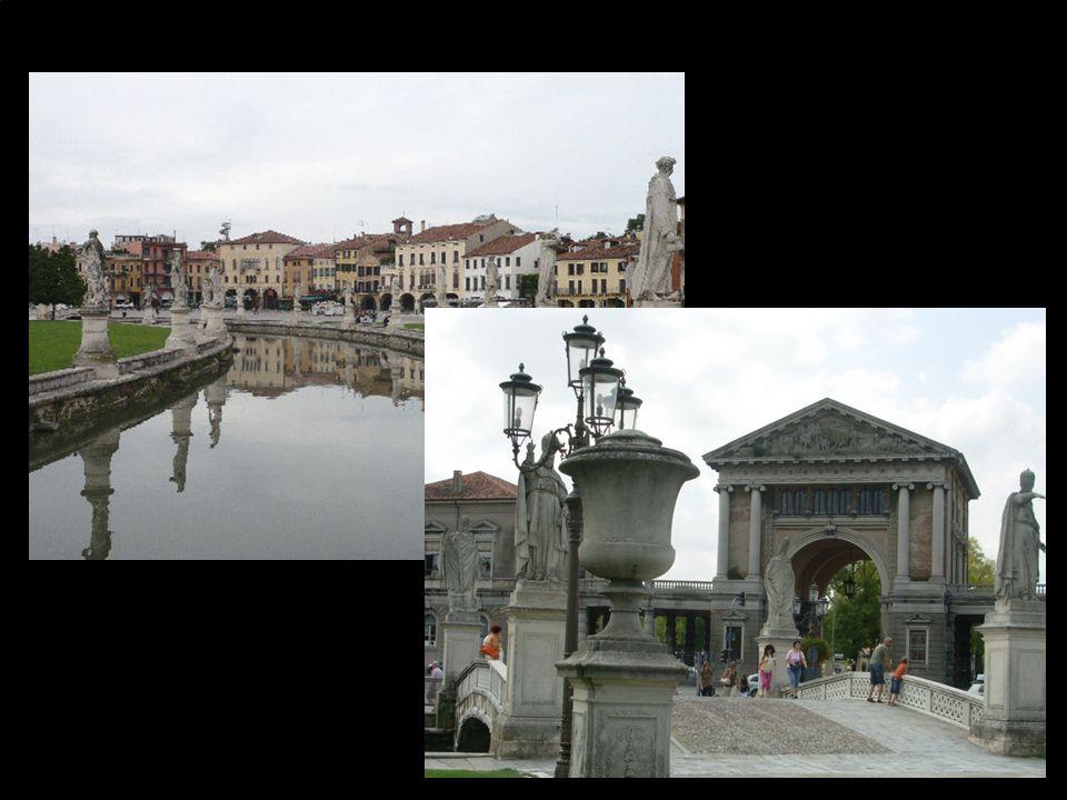 Největší náměstí v Itálii Piazza Prato della Vale