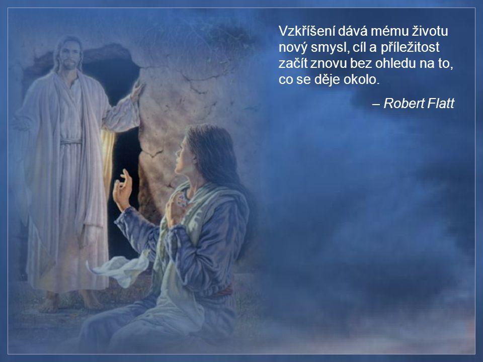 Ježíš se nám vzdálil z očí, abychom se mohli obrátit do svého srdce a nalézt tam Jeho.