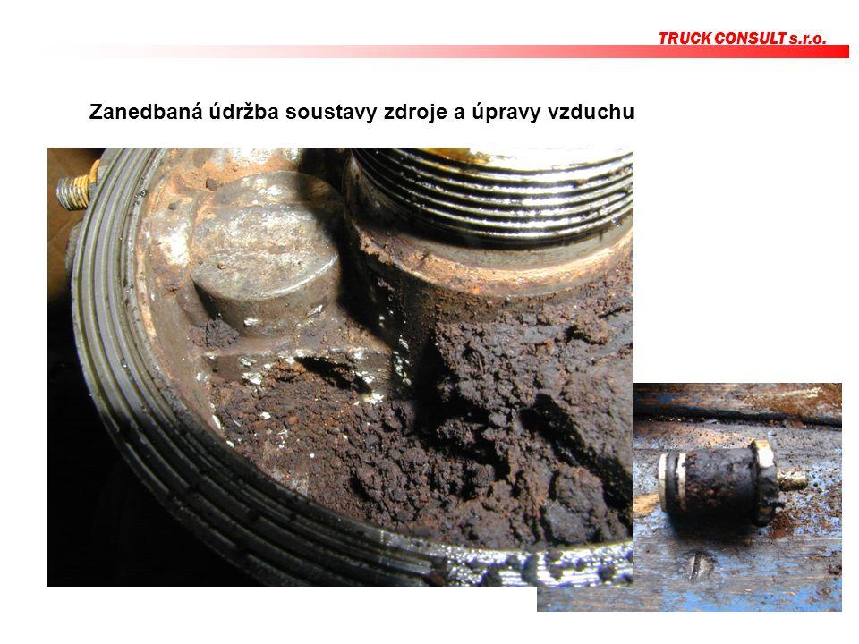 TRUCK CONSULT s.r.o. Zanedbaná údržba soustavy zdroje a úpravy vzduchu