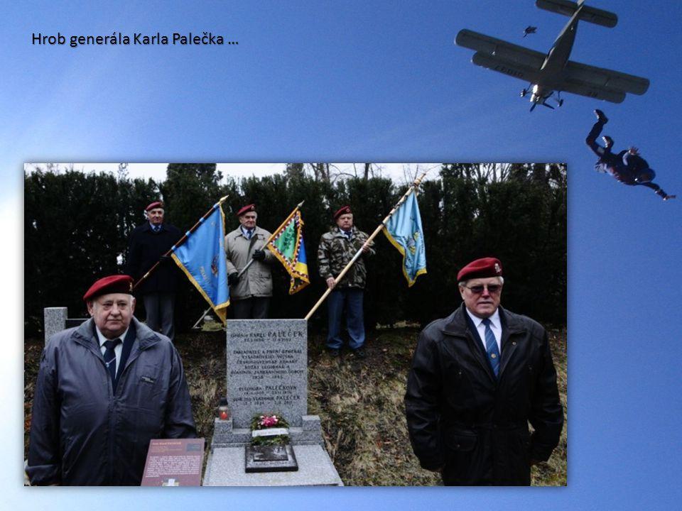Hrob generála Karla Palečka …