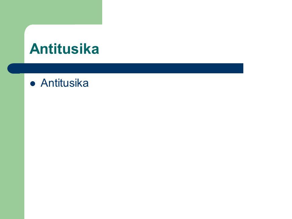 Antitusika