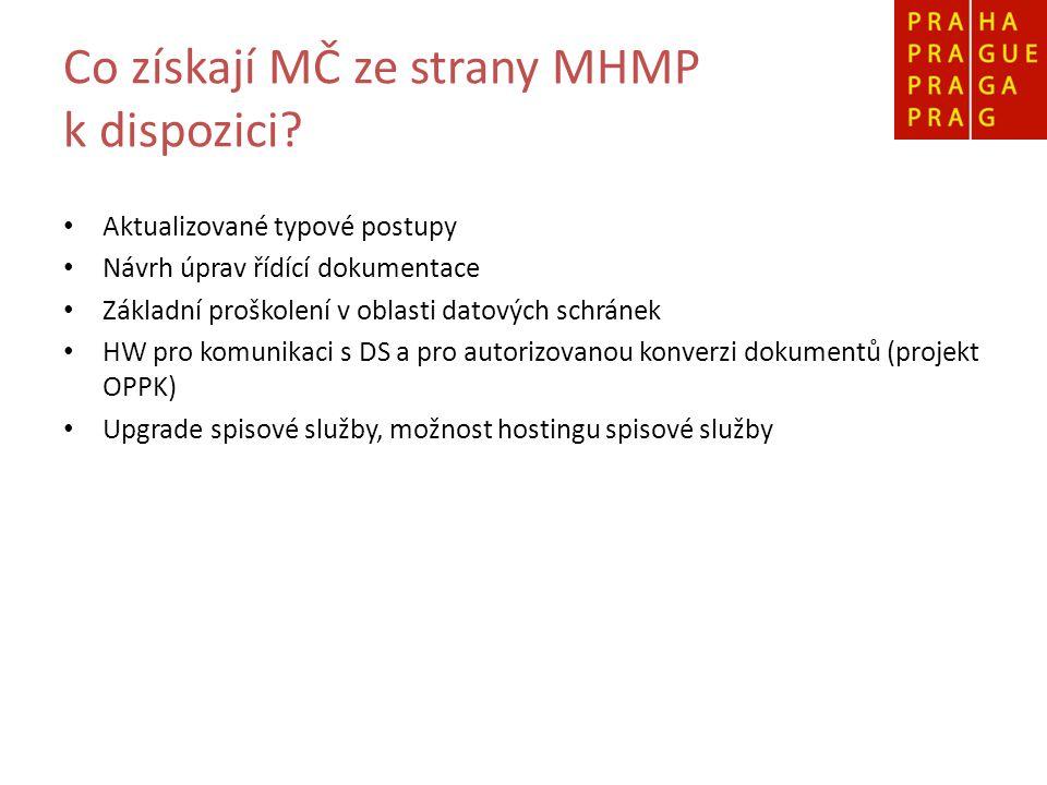 Co získají MČ ze strany MHMP k dispozici.