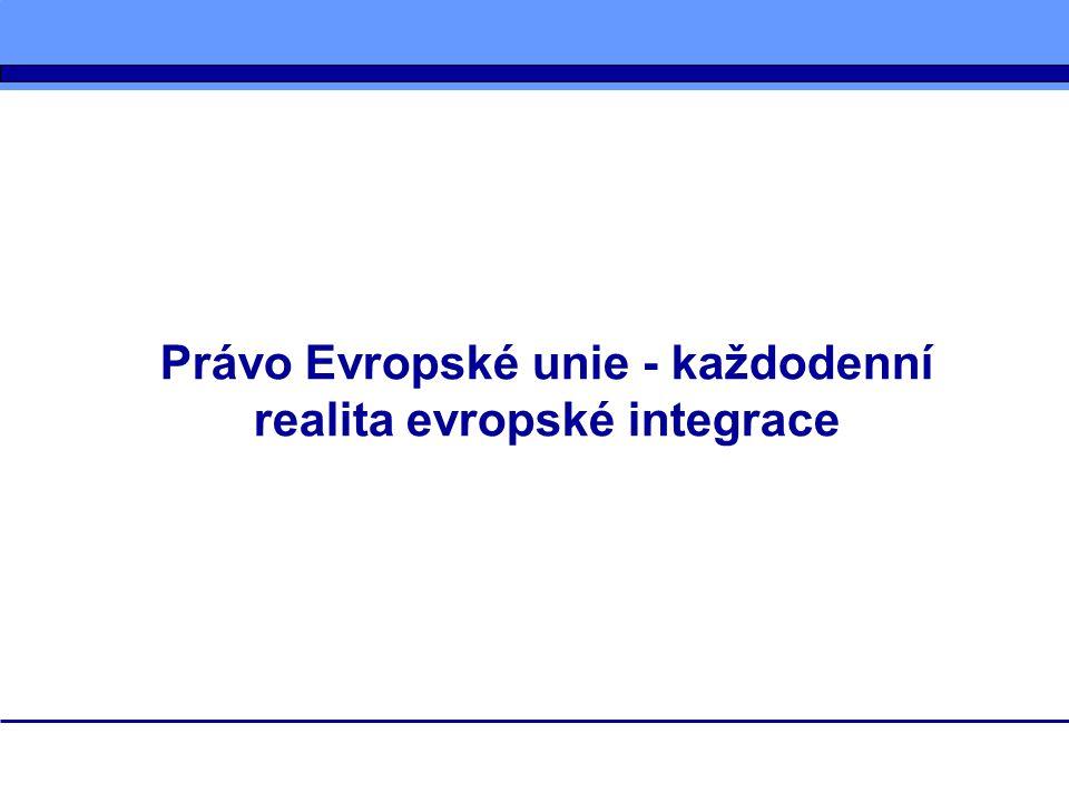 Prezentace je zaměřena na následující oblasti: subjekty tvorby práva EU proces tvorby práva Evropské unie informační zdroje o tvorbě práva EU