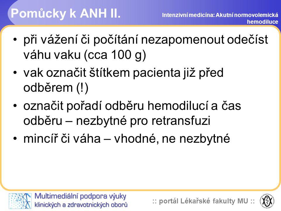 :: portál Lékařské fakulty MU :: Pomůcky k ANH II.