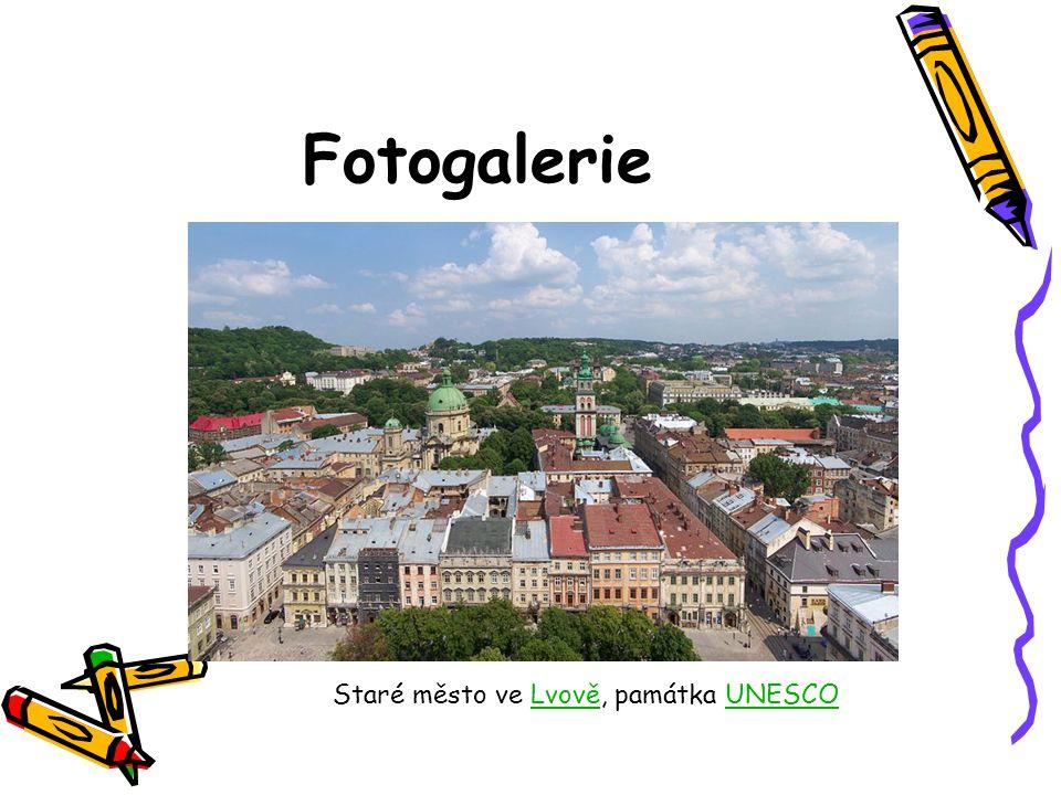 Fotogalerie Staré město ve Lvově, památka UNESCOLvověUNESCO