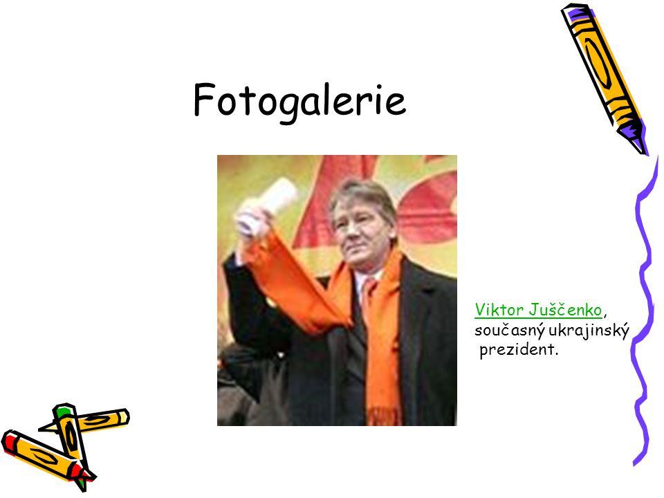 Fotogalerie Viktor JuščenkoViktor Juščenko, současný ukrajinský prezident.