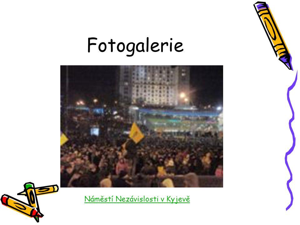 Fotogalerie Náměstí Nezávislosti v Kyjevě