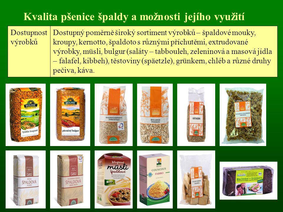 Pekařská jakost pšenice špaldy OdrůdaObsah N-látek v suš.