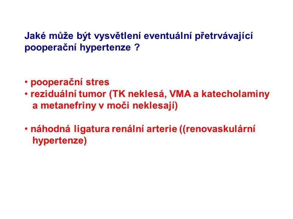 Jaký přípravek(y) se podává jako předoperační premedikace a proč ? Náhlý pokles TK (kardiovaskulární kolaps) při operaci (po vynětí nádoru) se napraví