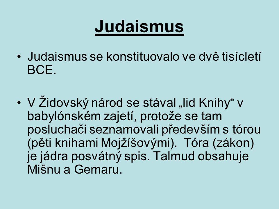 Judaismus Šabat začíná v pátek večer a končí sobotním večerem.