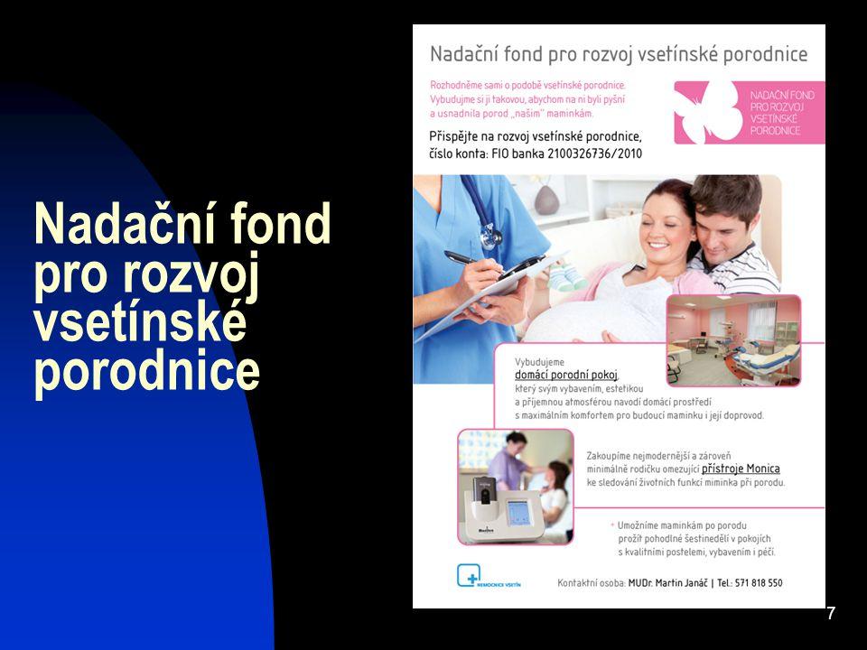 7 Nadační fond pro rozvoj vsetínské porodnice