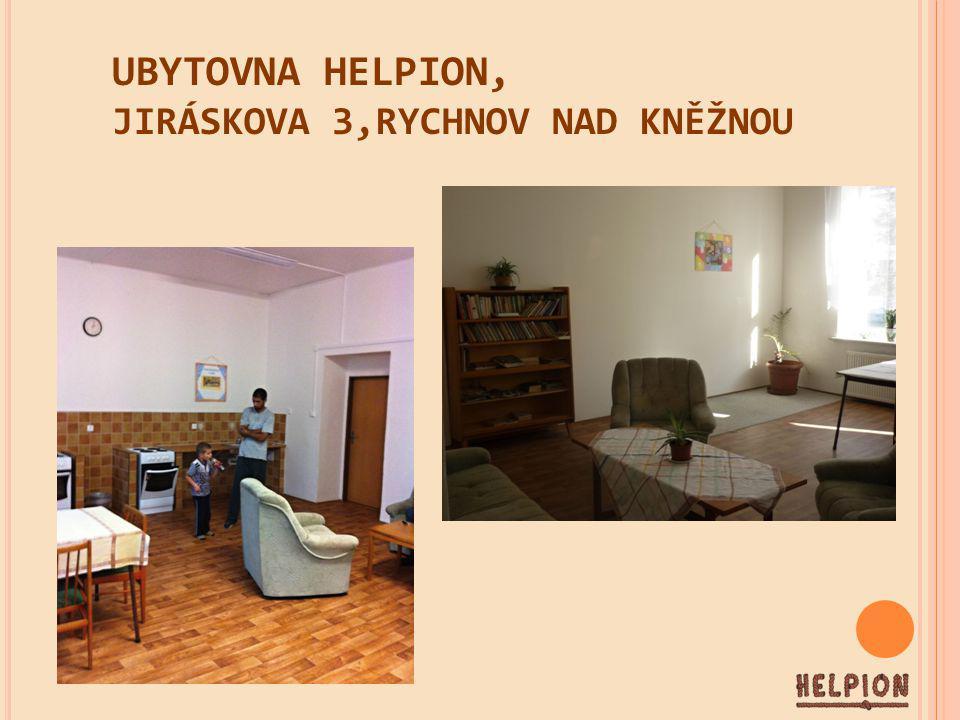 UBYTOVNA HELPION, JIRÁSKOVA 3,RYCHNOV NAD KNĚŽNOU