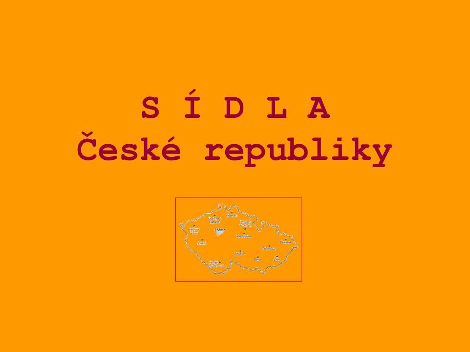 S Í D L A České republiky