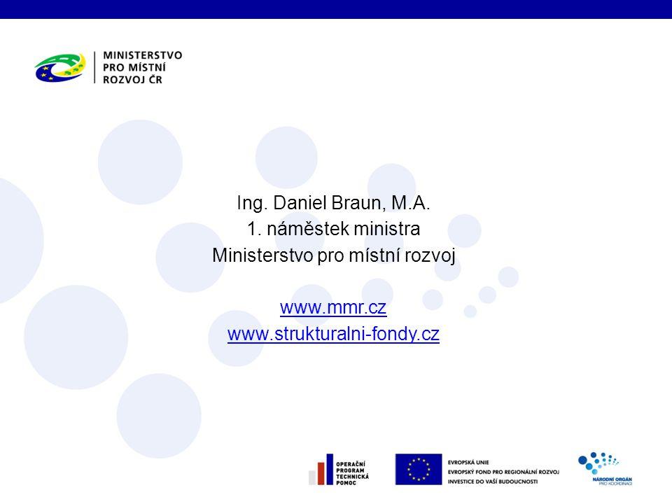 Ing. Daniel Braun, M.A. 1.