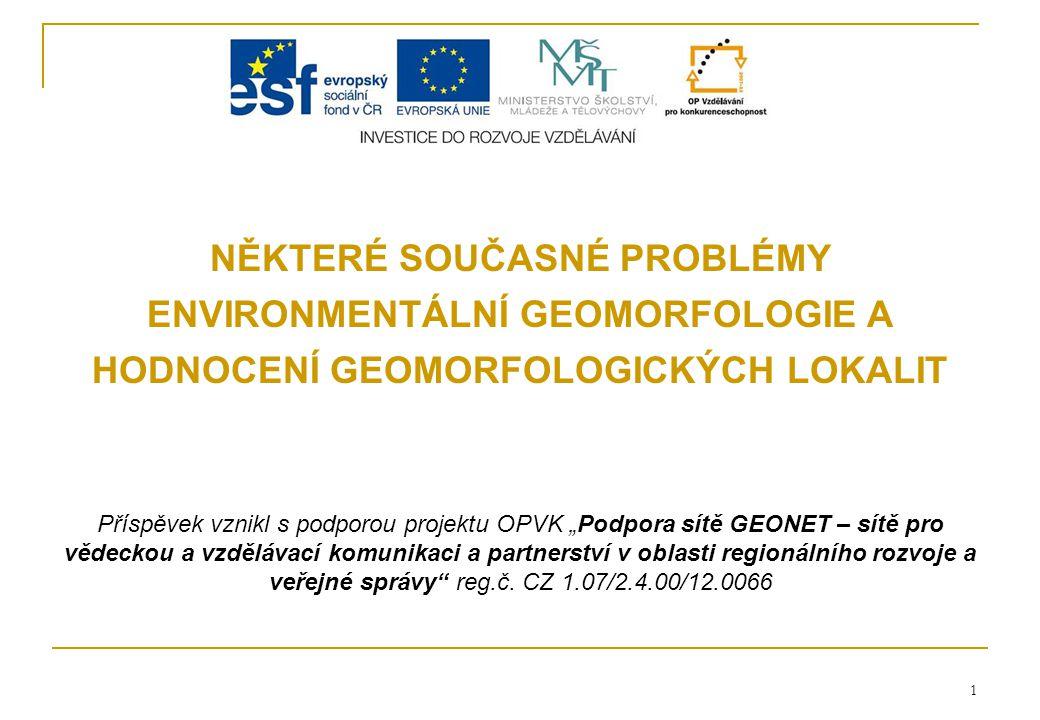 Ústav geoniky AV ČR, Ostrava 22 1.Vědeck á hodnota č í slokrit é ria body 1.areprezentativnostmax.