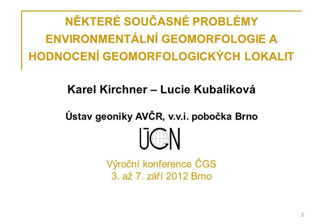 Ústav geoniky AV ČR, Ostrava 23 2.Ostatn í hodnoty 2.a estetick á hodnota barvy, počet barevmax.