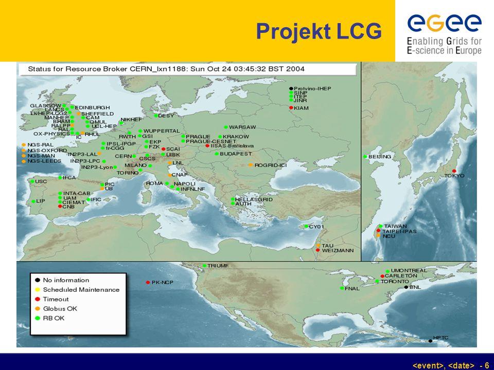 , - 6 Projekt LCG