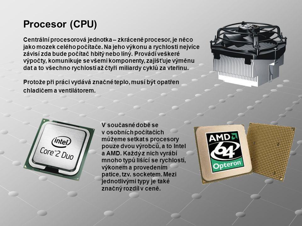 Zakladní deska (anglicky Main Board) nejvíce ovlivňuje celkové vlastnosti a možnosti počítače.
