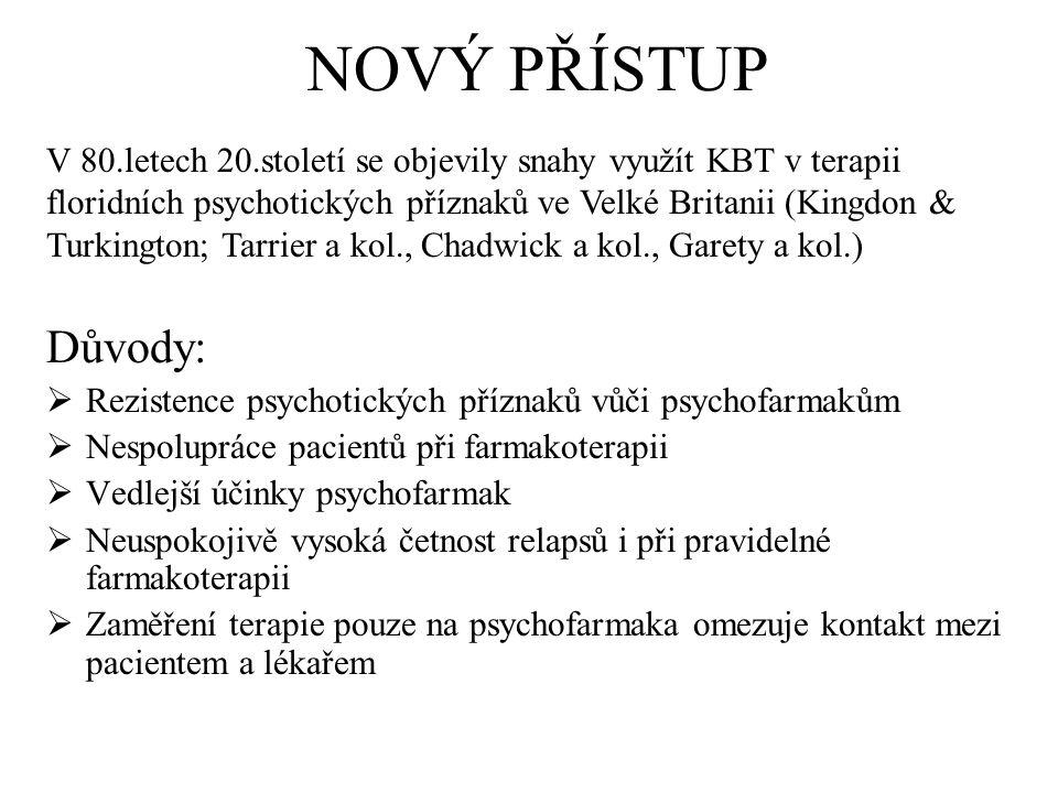 Metody ke zvládání sluchových halucinací Behaviorální metody (pomocí změny chování) např.