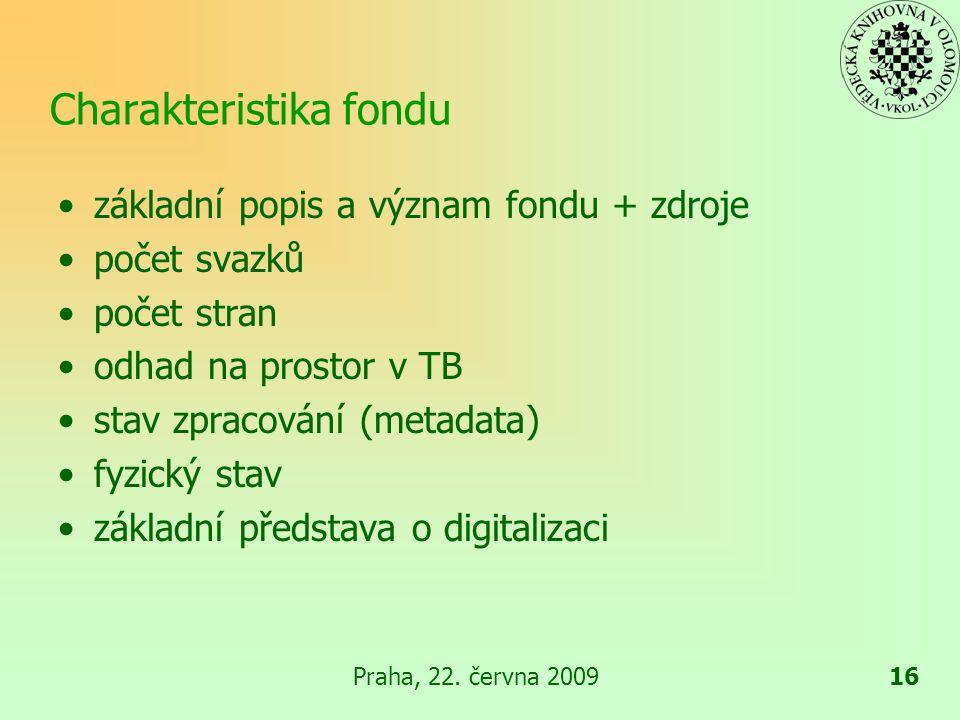 Praha, 22.