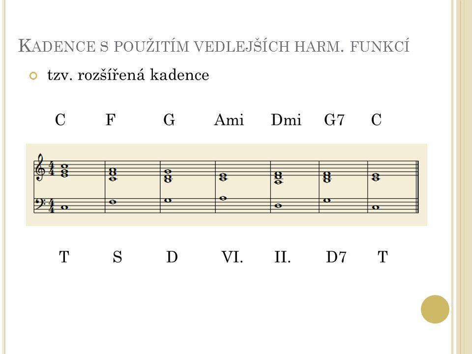 H ARMONIE homofonie = hudba, ve které je jedna vedoucí melodie doprovázená ostatními hlasy (je harmonizovaná) oproti tomu polyfonie = současné zaznívání různých samostatných melodií kontrapunkt = současné vedení několika samostatných melodií (hlasů) na harmonickém základu (vhodného vedení hlasu s ohledem na jejich vyhovující souznění)