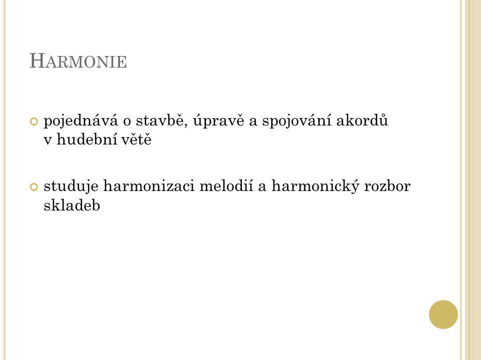 Z ÁKLADNÍ HARMONICKÉ FUNKCE harmonická funkce = funkce, úloha, význam akordu ve skladbě rozlišujeme 3 základní harmonické funkce: tónika subdominanta dominanta
