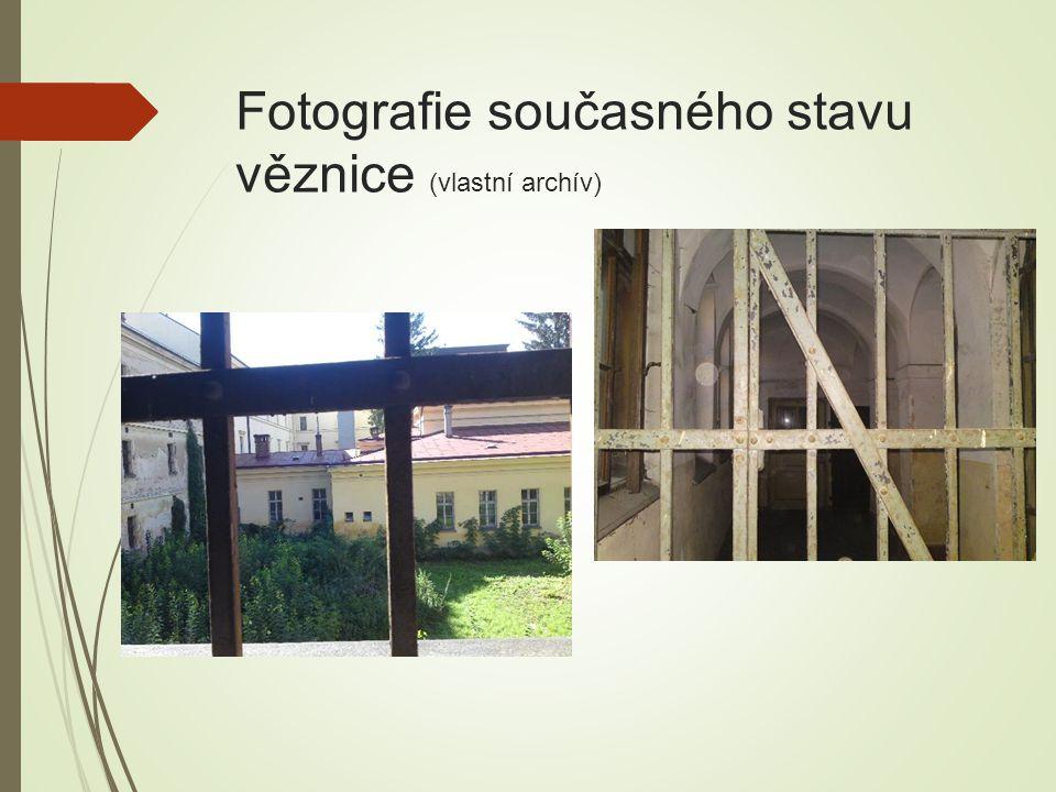 Fotografie současného stavu věznice (vlastní archív)