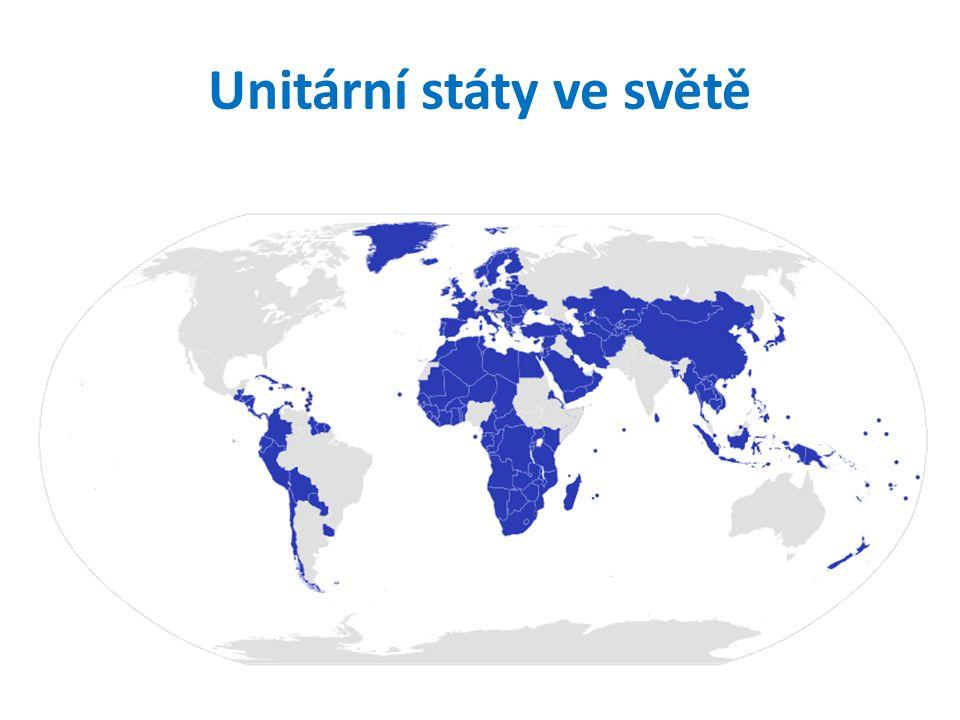 Unitární státy ve světě
