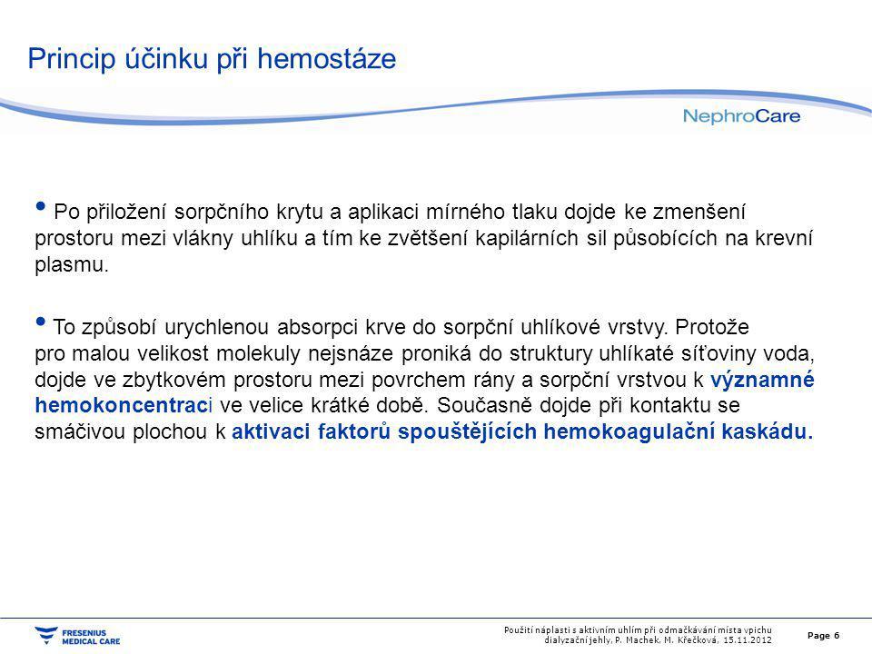 Soubor a metoda Testovali jsme náplasti Tecasorb (Invaz, Česká Republika).