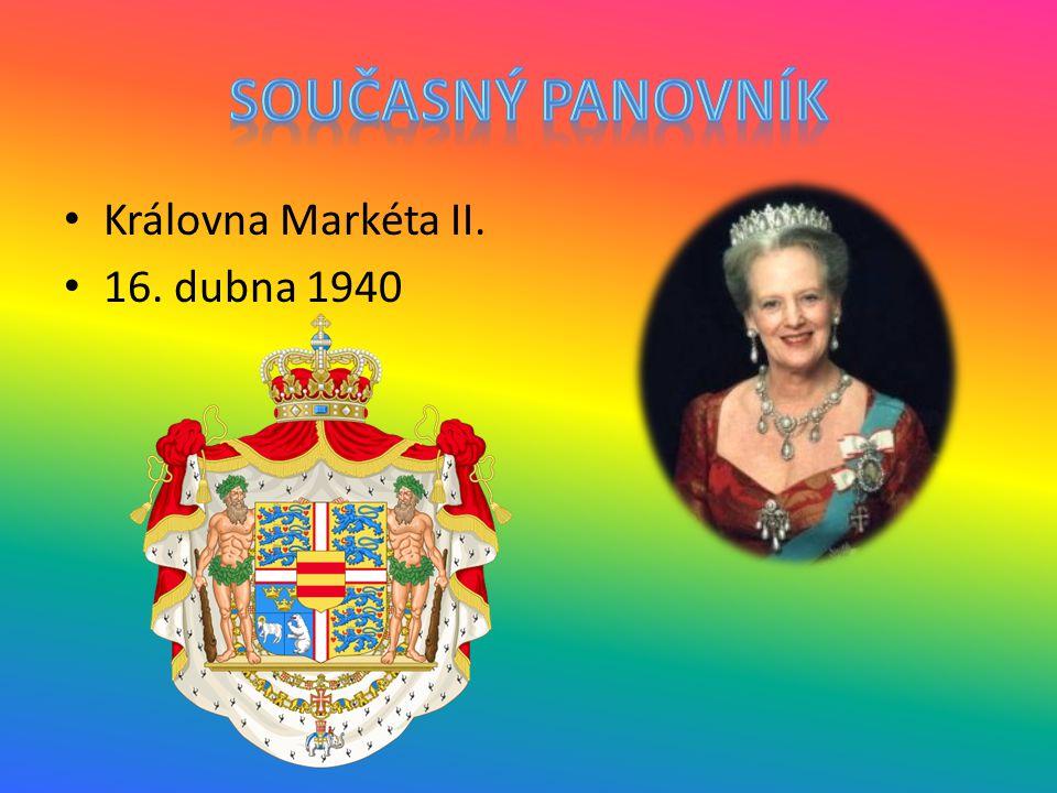 Královna Markéta II. 16. dubna 1940