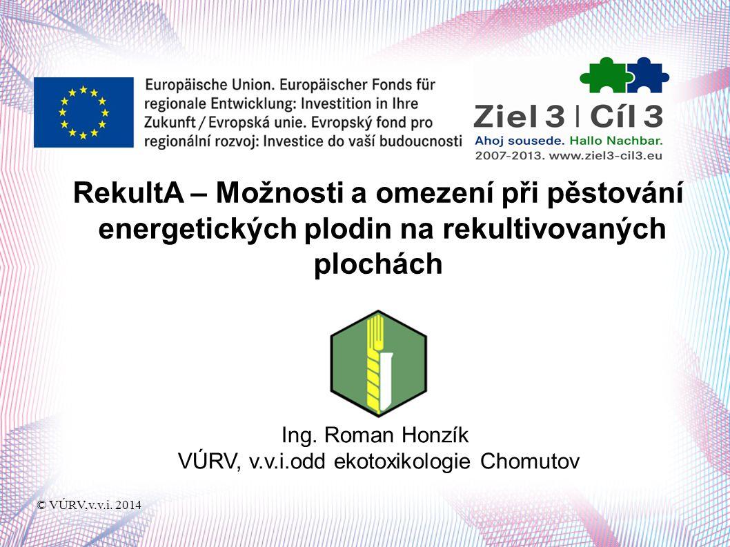 © VÚRV,v.v.i. 2014